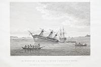 The Discovery on the Rocks in Queen Charlotte's Sound
