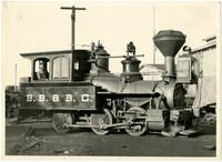 B.B. & B.C. steam train engine
