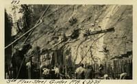 Lower Baker River dam construction 1925-06-22 3rd Floor Steel Girder P.H.