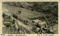 Lower Baker River dam construction 1924-10-03 Lower Cofferdam