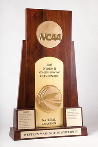 Rowing (Women's) Trophy: NCAA Division 2 National Champion, 2005