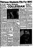 Western Washington Collegian - 1954 February 12