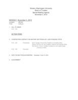 WWU Board of Trustees Packet: 2018-11-05