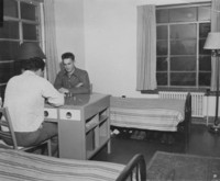 1947 Men's Residence Hall: Dorm Room