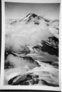 Aerial of mountain