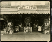Exterior of Liberty Theater, Lynden, Washington