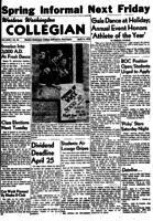 Western Washington Collegian - 1955 April 15