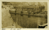 Lower Baker River dam construction 1925-03-16