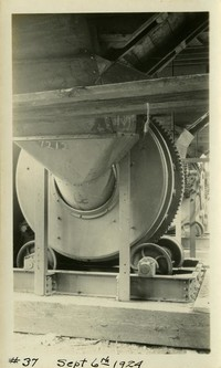 Lower Baker River dam construction 1924-09-06 Concrete mixing equipment