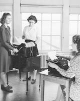 1943 Campus School Ditto Room