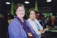 2007 Reunion--Gloria (Woodward) Pinard and friend