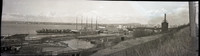 View of Bellingham Bay taken from a lumber mill