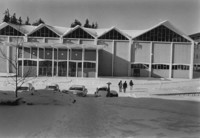 1971 Carver Gym in Snow