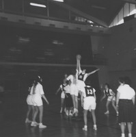 Basketball Game at Tipoff