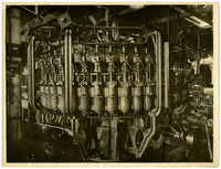 Large manufacturing machine, possibly for food processing