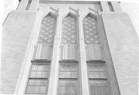 1943 Campus School Building, Detail Above Main Entrance