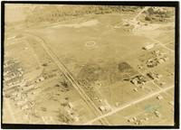 Graham Airport - aerial view of landing field