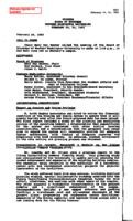 WWU Board minutes 1993 February