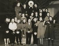 1940 Edens Hall: Students