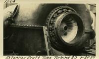 Lower Baker River dam construction 1925-08-28 Extension Draft Tube Turbine 2S