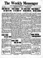 Weekly Messenger - 1919 March 29