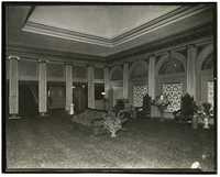 Unidentified theater lobby