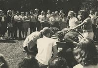 1946 Campus Day: Pie-Eating Contest