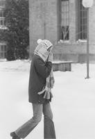 1971 Student in Snow