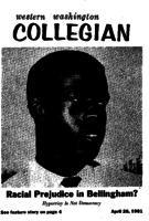 Western Washington Collegian - 1961 April 28