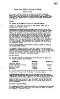 WWU Board minutes 1957 August
