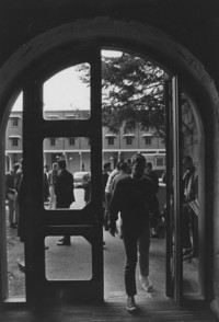 1963 Old Main Looking Toward Humanities Building