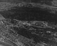 1968 Aerial View: From the West
