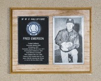Hall of Fame Plaque: Fred Emerson, Football (Running Back), Class of 1976
