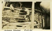 Lower Baker River dam construction 1925-09-22 Intake Tunnel