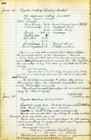 AS Board Minutes - 1922 June