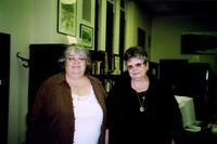 2007 Reunion--Nancy (McDonald) Moore and Vicki (Hyde) Robinson in Special Collections