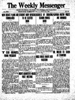 Weekly Messenger - 1923 March 23