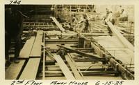 Lower Baker River dam construction 1925-06-15 2nd Floor Power House