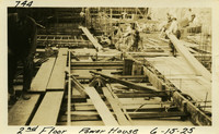 Lower Baker River dam construction 1925-06-15 2nd Floor Power House