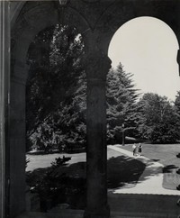 1947 Students on Walkway