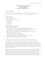 WWU Board of Trustees Minutes: 2015-11-17