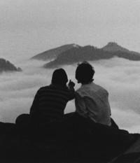 1982 Students Enjoying View