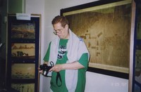 2007 Reunion--Chris Harwood in Special Collections
