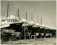 Six fishing boats with Pa