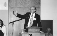 """1993 Reunion--John """"Robbie"""" Calhoun Addresses Banquet Attendees"""