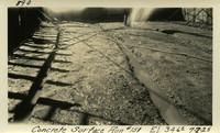 Lower Baker River dam construction 1925-07-02 Concrete Surface Run #151 El.346.0