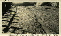 Lower Baker River dam construction 1925-07-02 Concrete Surface Run #151 El.346.0
