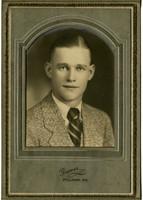 Studio portrait of unidentified young man