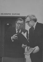 1972 Robert Lawyer and Warren G. Magnuson in Library