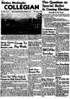 Western Washington Collegian - 1950 April 14